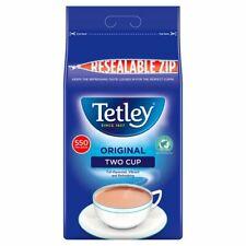 550 TETLEY ORIGINAL TWO CUP TEA BAGS (resealable zip)