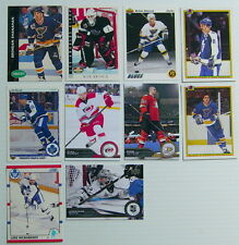 1990-2014'S LOT OF 10 HOCKEY CARDS.