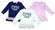 Mädchen-T-Shirts & -Tops im Tunika-Stil aus 100% Baumwolle