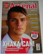 Arsenal Official Magazine Vol 15 Iss 1 September 2016 Xhaka Can! Takuma Asano