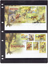 2013 Australia's Age of Dinosaurs 2 FDC Normal Stamps & Mini Sheet on Cover