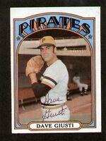 Dave Giusti #190 signed autograph auto 1972 Topps Baseball Trading Card