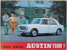 Austin 1100 - German language brochure 12 page