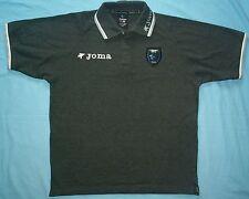 Cardiff City FC / 2008-2009 / JOMA - MENS grey polo Shirt / Jersey. Size: XS