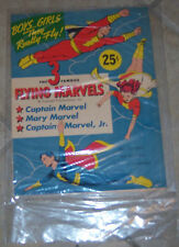 The 3 Famous Flying Marvels Still Sealed Un-cut Condition 1945 Very Good Condit.