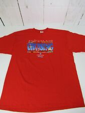 Norwegian Wind Cruising Graphic T-shirt New With Tags Size 2XL Red A7