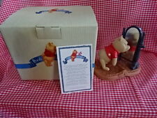 "DISNEY POOH & FRIENDS-NIB! POOH  ""YOUR UPS AND DOWNS ARE LOOKING UP""! FIGURINE"