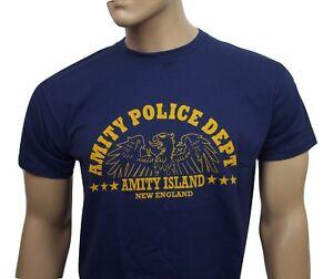Jaws film t-shirt - Amity Police Dept.