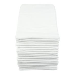 MuslinZ 18PK Baby Muslin Squares Burp Cloth Nappies 70x70cms 100% Pure Cotton