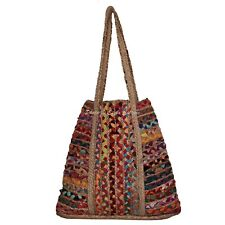 Indian Fancy Jute Eco Friendly Hand Craft Shoulder Bag Shopping Party Gift