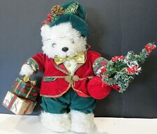 Stuffed Christmas Bear