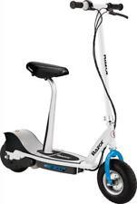 Razor E300S Adulti Junior 24V Elettrico Seduto giro su scooter 15mph Bianco & Blu