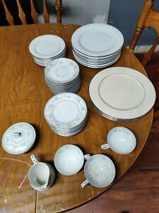 50pc Mikasa Winslow Dinnerware Set