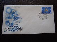 NATIONS-UNIES (new york) - enveloppe 1er jour 29/5/1981 (B7) united nations