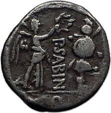 Roman Republic 99BC Rome QUINARIUS like VICTORIATUS Silver Roman Coin i60455