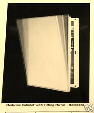 Medicine Cabinets-Basco Brand-10 Speciality Tilting Mirror-Handicap Access-NIB!