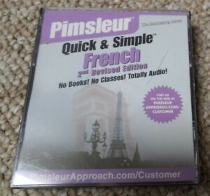 Pimsleur Quick & Simple French 2nd Revised Edition. 4 CD set