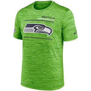 New 2021 NFL Seattle Seahawks Nike Sideline Velocity Legend Space Dye T-Shirt