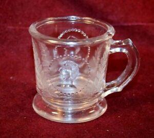 EAPG Mug - MEDALLION Pattern - Atterbury ca. 1870's