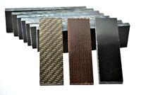 New Multi-size Lattice Grain Snake Micarta Material Scales Slabs Handle DIY Tool