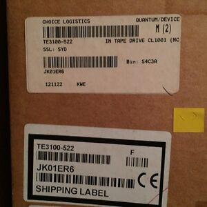 Quantum CL1001-SB N7101 LTO-2 SCSI Lvd Interno H/H Autonomía Nuevo Precintado