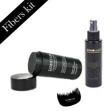 Keratin Hair fibers bald patch concealer & FREE keratin hold spray&fiber comb