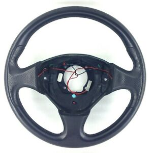 Genuine Momo Maserati black leather steering wheel. 3200 4200 GT etc.       17B