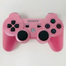 PINK Official Sony Playstation 3 PS3 Dualshock 3 Sixaxis Wireless Controller
