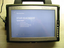 DIAGNOSECOMPUTER MERCEDES BENZ STAR DIAGNOSIS COMPACT 4 ORIGINAL WERKSTATTGERÄT!