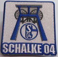 Aufnäher / Aufbügler + FC Schalke 04 + Förderturm Zeche Kumpel + Lizenzware #20