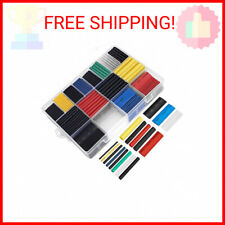 Ginsco 580 Pcs 21 Heat Shrink Tubing Kit 6 Colors 11 Sizes Assorted Sleevin