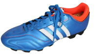 Adidas 11Pro Questra Football Boots Size Adult UK 12 Blue TRX FG V21460