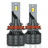 H4 HB2 9003 LED Scheinwerferlampen Nebelbirnen Kit 50W 8000LM 3000K 4300K 6000K