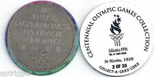 1996 Centennial Olympic Games Collection POG 2 of 20 St. Moritz 1928
