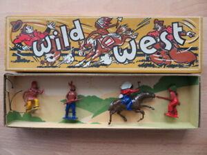 Vintage Britains Indians Wild West Lead