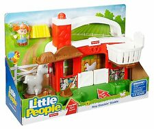 Fisher-Price Little People Hay Stackin' Stable Playset w/ Sound 10+ phases