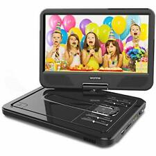 """WONNIE 2020 Upgrade 12.5"""" Lecteur DVD Portable avec écran Rotatif à 270° Cart..."""