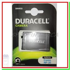 Batteria Ricaricabile DURACELL DRNP20 = NP-20 x Casio Exilim Card EX Exilim Zoom