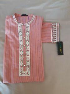 Pakistani designer Limelight original Kurta kameez shirt top tunic size M