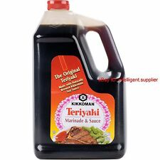 Kikkoman 1 Gallon Teriyaki Marinade and Sauce,Made in USA, Free shipping