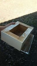 Honey box (An extra box added to a native bee hive for honey collection)