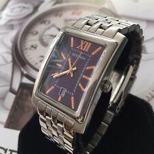 Mens Sekonda Dress Watch Purple Dial Rectangle NT3771 Genuine