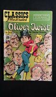 Classics Illustrated Oliver Twist #23 (1945) VG Gilberton Comics HRN 94 *