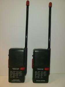 VINTAGE RADIO SHACK ARCHER SPACE PATROL WALKIE TALKIES GREAT SOUND & CONDITION