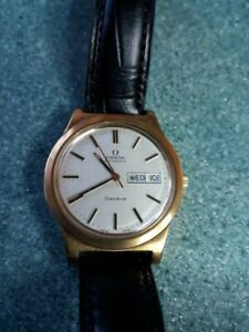 omega geneve  automatic wristwatch