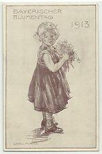 Bayrischer Blumentag 1913 Privat-Ganzsache