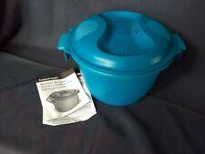 NIP Tupperware Microwave Rice Maker Cooker Steamer 4 c, 2.2L Quinoa