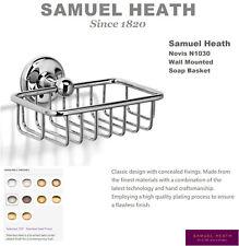 Samuel Heath Novis N1030-SSF Soap Basket in Stainless Steel(Brushed S.Nickel)NIB