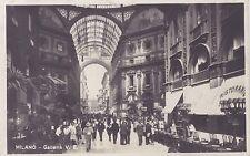 Milan Galleria Italie Italia Photo-carte sur papier carte postale