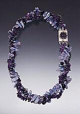 Amethyst Torsade Necklace Bess Heitner Lilac